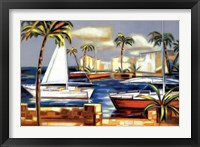 Framed Bay Breeze IV