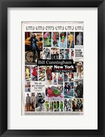 Framed Bill Cunningham New York