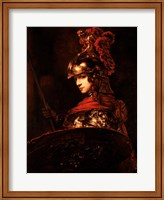 Framed Pallas Athena or, Armoured Figure