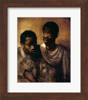 Framed Two Negroes, 1661