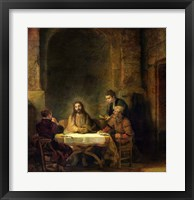 Framed Supper at Emmaus, 1648