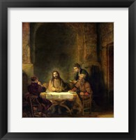 Framed Supper at Emmaus, 1648