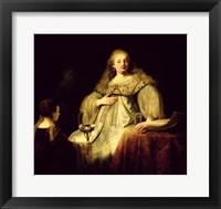 Framed Artemisia, 1634