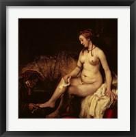 Framed Bathsheba Bathing, 1654