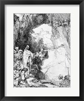 Framed Great Raising of Lazarus