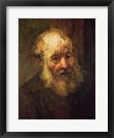 Framed Head of an Old Man, c.1650