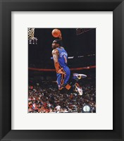 Framed Amar'e Stoudemire 2010-11 Action