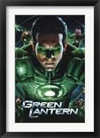 Framed Green Lantern Movie - Group