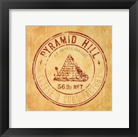 Framed Pyramid Hill