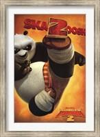 Framed Kung Fu Panda 2 - Panda Bear