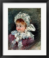 Framed Michel Monet (1878-1966) as a Baby, 1878-79