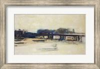 Framed Study for Charing Cross Bridge