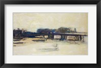 Framed Study for Charing Cross Bridge