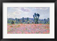 Framed Poppy Field, 1887