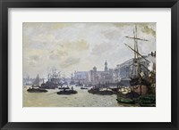 Framed Thames at London, 1871