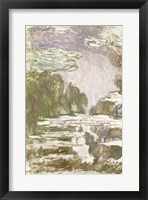 Framed Study for the Waterlilies, 1907