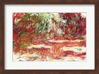 Framed Waterlily Pond