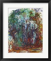 Framed Weeping Willow
