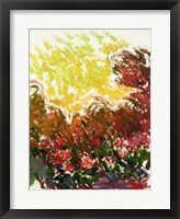 Framed Garden at Giverny - abstract