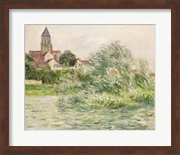 Framed Church and the Seine at Vetheuil, 1881