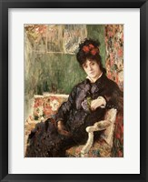 Framed Portrait de Madame Camille Monet