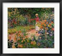 Framed Garden at Giverny, 1895