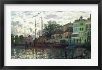 Framed Dam at Zaandam, Evening, 1871