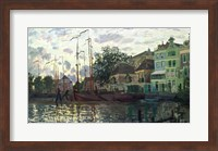 Framed Dam at Zaandam, Evening, 1871
