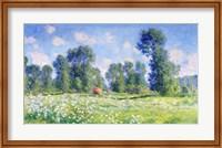 Framed Effect of Spring, Giverny, 1890