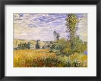 Framed Vetheuil (field)