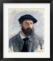 Framed Self Portrait with a Beret, 1886