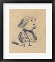 Alexandre Ursule Cellerier Framed Print