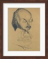 Framed Adolphe d'Ennery