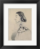 Framed Young Woman at the Piano
