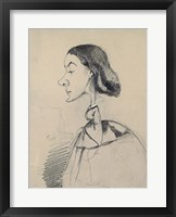 Young Woman at the Piano Framed Print