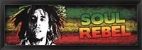 Framed Bob Marley - Soul Rebel