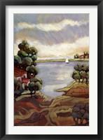 Framed Lago Gardi 2
