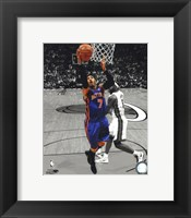 Framed Carmelo Anthony 2010-11 Spotlight Action