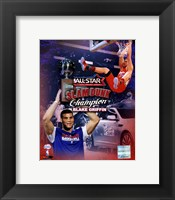 Framed Blake Griffin 2011 NBA Slam Dunk Champion Portrait Plus