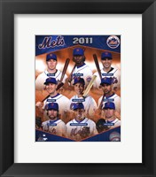 Framed New York Mets 2011 Team Composite
