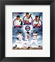 Framed Minnesota Twins 2011 Triple Play Composite