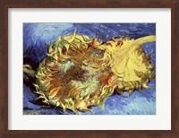 Framed Sunflowers, 1887