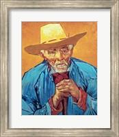 Framed Old Peasant
