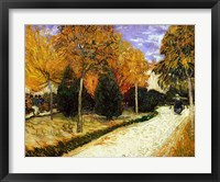 Framed Path in the Park at Arles, 1888