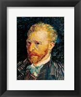 Framed Self Portrait, 1887 - black