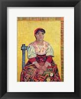 Framed Italian: Agostina Segatori, 1887
