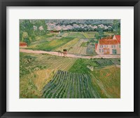 Framed Landscape at Auvers after the Rain, 1890