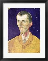 Framed Portrait of Eugene Boch