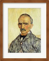 Framed Portrait of Superintendant Trabuc in St. Paul's Hospital