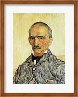 Framed Portrait of Superintendant Trabuc in St. Paul's Hospital